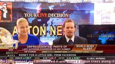 Latest World News Channel 8 - Addy Schreiner and Myles Forster News Room... https://www.youtube.com/watch?v=KCwo2S3HAqI&index=1&list=PLPLezJMY06sAupw6JbBp94I9mUuxWJn0e