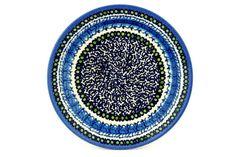 Polish Pottery 8-inch Plate | Boleslawiec Stoneware | Polmedia H1501B