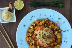 Prepárate una cena al más estilo hindú con esta nueva receta de coliflor con Garam Masala. Rica, nutritiva, saludable y muy energizante para las noches.