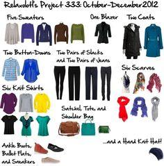 33 item wardrobe - Bing Images