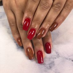 Jolie ongles rouge Red Nails, Red Nail, Pretty Nails, Red Toenails
