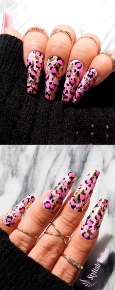 If you are searching for cute nail colors for spring and beautiful spring nail designs then check our Stylish nails especially Floral nails and butterfly nails. Cute Nail Colors, Spring Nail Colors, Spring Nails, Cute Nails, Autumn Nails, Best Nail Art Designs, Fall Nail Designs, Beautiful Nail Designs, Winter Nails 2019