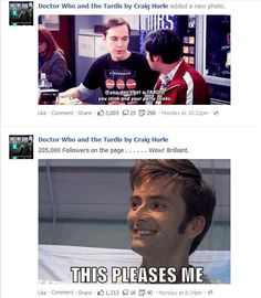 The Doctor approves