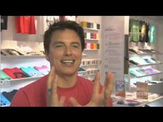 John Barrowman's nerdy confessions. Lol oh my god, he is just a wonderful human being