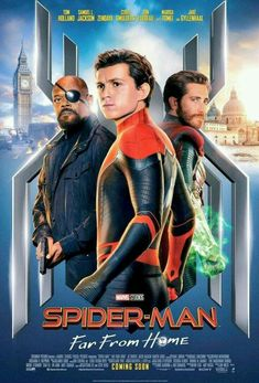 New Poster From Spider-Man Far From Home! Starring Tom Holland. 2 July 2019