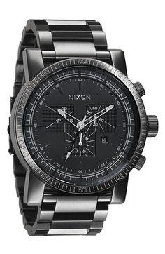 Nixon 'The Magnacon' Bracelet Watch