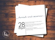 White Scribble Square Wedding Invitation ~ DIY PRINTABLE ~ Professional Printing with envelopes and postage included