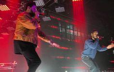 """The Weeknd e Kendrick Lamar fazem primeira performance ao vivo de """"Sidewalks"""" #Cantor, #Disco, #Exclusivo, #M, #Noticias, #Novo, #Rapper, #Show, #Vídeo, #Youtube http://popzone.tv/2016/12/the-weeknd-e-kendrick-lamar-fazem-primeira-performance-ao-vivo-de-sidewalks.html"""