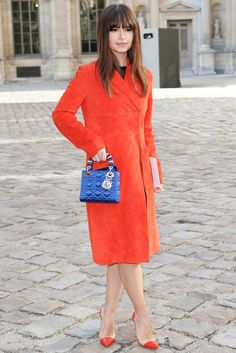Miroslava Duma - Christian Dior Fall 2015 Ready-to-Wear - Front-row - Gallery - Style.com