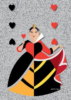 Queen of Hearts by *AmadeuxWay on deviantART