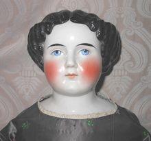 one of my favorite molds    Beautiful German Glazed Porcelain China Head Doll by Alt, Beck & Gottschalck
