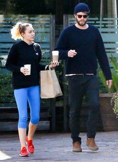 Ven a Miley Cyrus y Liam Hemsworth ir a un almuerzo casual y ahora todos volvimos a creer en el amor