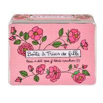 Boite à Trucs de Filles Ronchon - rose