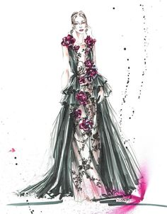 @marchesafashion by @maelleigh  Be Inspirational ❥ Mz. Manerz: Being well dressed is a beautiful form of confidence, happiness & politeness