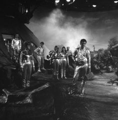 On set of Lost in Space