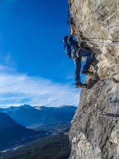 Klettersteig Geierwand - talnah und super angelegt...