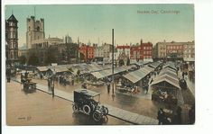 A market day in around 1910 From the Guildhall looking North West