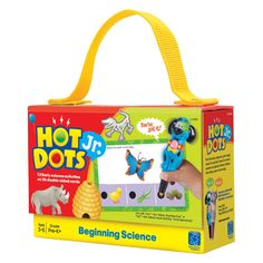 Have to have it. Educational Insights Hot Dots Jr. Cards - Beginning Science - $24.99 @hayneedle.com