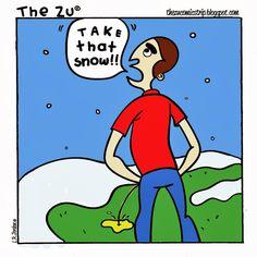 The Zu Number 13  Thezucomicstrip.blogspot.com