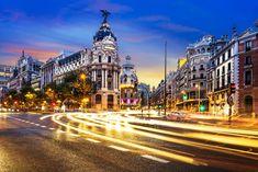 One of our very favorite views in Madrid, Spain.