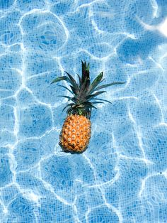 Because pineapples in a pool are fun.