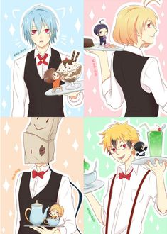 Servamp Cafe print set for SMASH2016 by Naruu-kun.deviantart.com on @DeviantArt