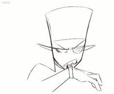 Hat For Short Hair Round Face - - Crochet Hat Christmas - Hat For Teens - Black Hat Desenho Animation Reference, Drawing Reference, Cartoon Network, Art Sketches, Art Drawings, Character Art, Character Design, Pixiv Fantasia, Villainous Cartoon