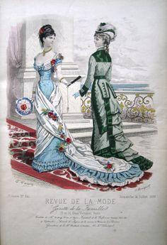 Revue de la mode Nr. 341 aus 1878