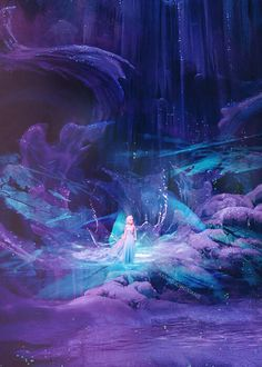 Even when Elsa was alone she wasn't alone.