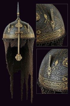 Khula-Khud (Helmet) Century – Willkommen bei Pin World Helmet Armor, Arm Armor, Fantasy Armor, Medieval Fantasy, Chainmail Armor, Qajar Dynasty, Ancient Armor, Armadura Medieval, Ottoman Empire