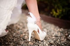 Such a cute way to show off the shoes