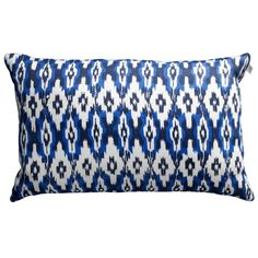Ikat Delhi tyynynpäällinen S, sininen ryhmässä Tekstiilit / Viltit & Koristetyynyt / Koristetyynyt @ ROOM21.fi (131465)
