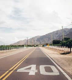 The road ahead. Compared with other parts of the country, you don't see many tourists in north-west Argentina. Empty roads such as this are commonplace. • Follow Andrew and Emily on Instagram and  Guardian Travel. Tag your images #guardiantravelsnaps