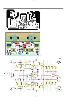 Amplificador de Audio de 400W Reales Hobby Electronics, Electronics Components, Electronics Projects, Crown Amplifier, Stereo Amplifier, Arduino, Electrical Circuit Diagram, Iphone 6, Ab Circuit