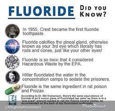 Fluoride - educate yourself