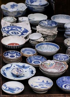 At some antique market, Japan: photo by bananagranola (busy), via Flickr