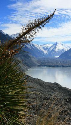Tasman Glacier Terminal Lake, South Island, New Zealand