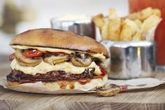 The Hangover hamburger