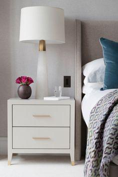 Bedside Table Decor, Bedside Table Design, Bedside Tables, Modern Bedside Table, Nightstand, Bedroom Furniture, Furniture Design, Bedroom Decor, Bedroom Table