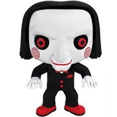 Funko Saw Billy the Puppet Pop! Pop Vinyl Figures, Funko Pop Figures, Chucky, Hades, Billy The Puppet, Best Funko Pop, Horror Merch, Mode Alternative, Funko Pop Toys