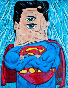 Picasso + Superman by WonderBros