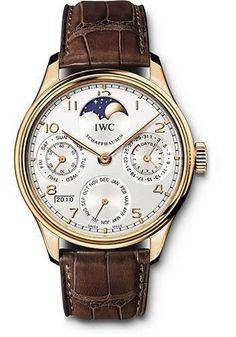 IWC - Portuguese Perpetual Calendar - Red gold Watch IW502306