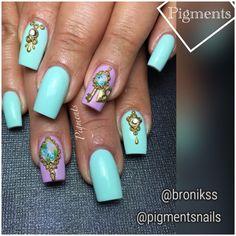 Nail Art / Nail Design   IG & FB Pigments Nails @pigmentsnails @bronikss