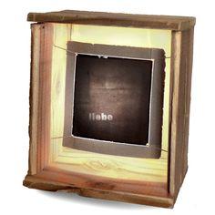 HANDMADE Wood Lightbox #119 ____ Made in April 2013
