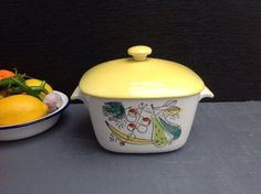 Vintage Rorstrand Granada Oven Ware  Small by Onmykitchentable