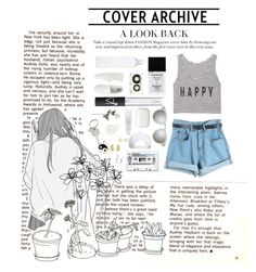 """cover archive"" by fawnlxt ❤ liked on Polyvore"