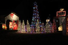 Check out these Christmas light displays around Aurora