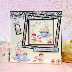 Floral Breeze Page 1 | Hunkydory Crafts