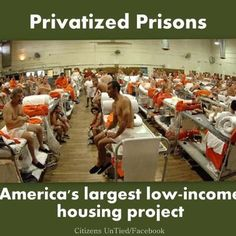 SHARE this photo if you think it's time to put an end to profit-driven prisons.