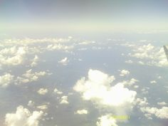 My view from an airplane